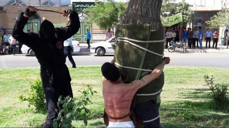 İRAN'DA KIRBAÇ REZALETİ