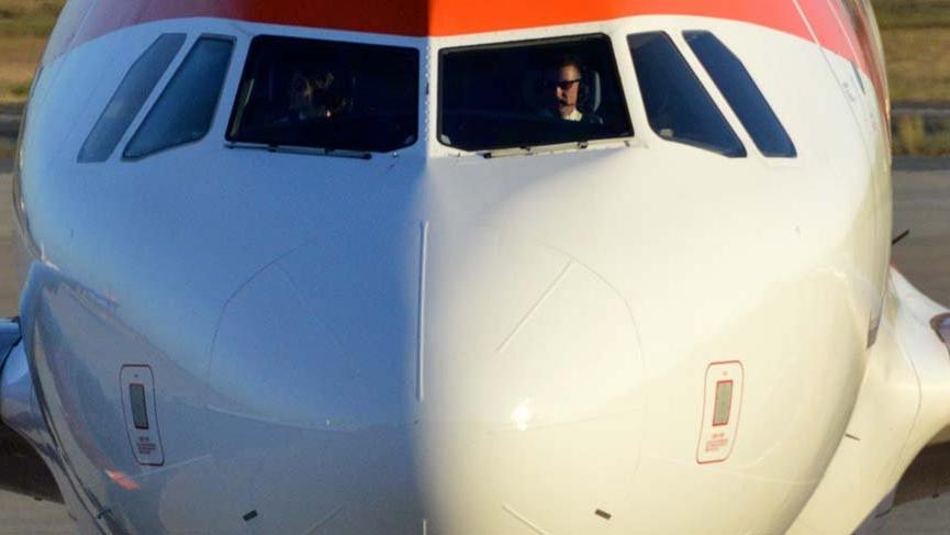 Pilotlar arasında yol verme kavgası!