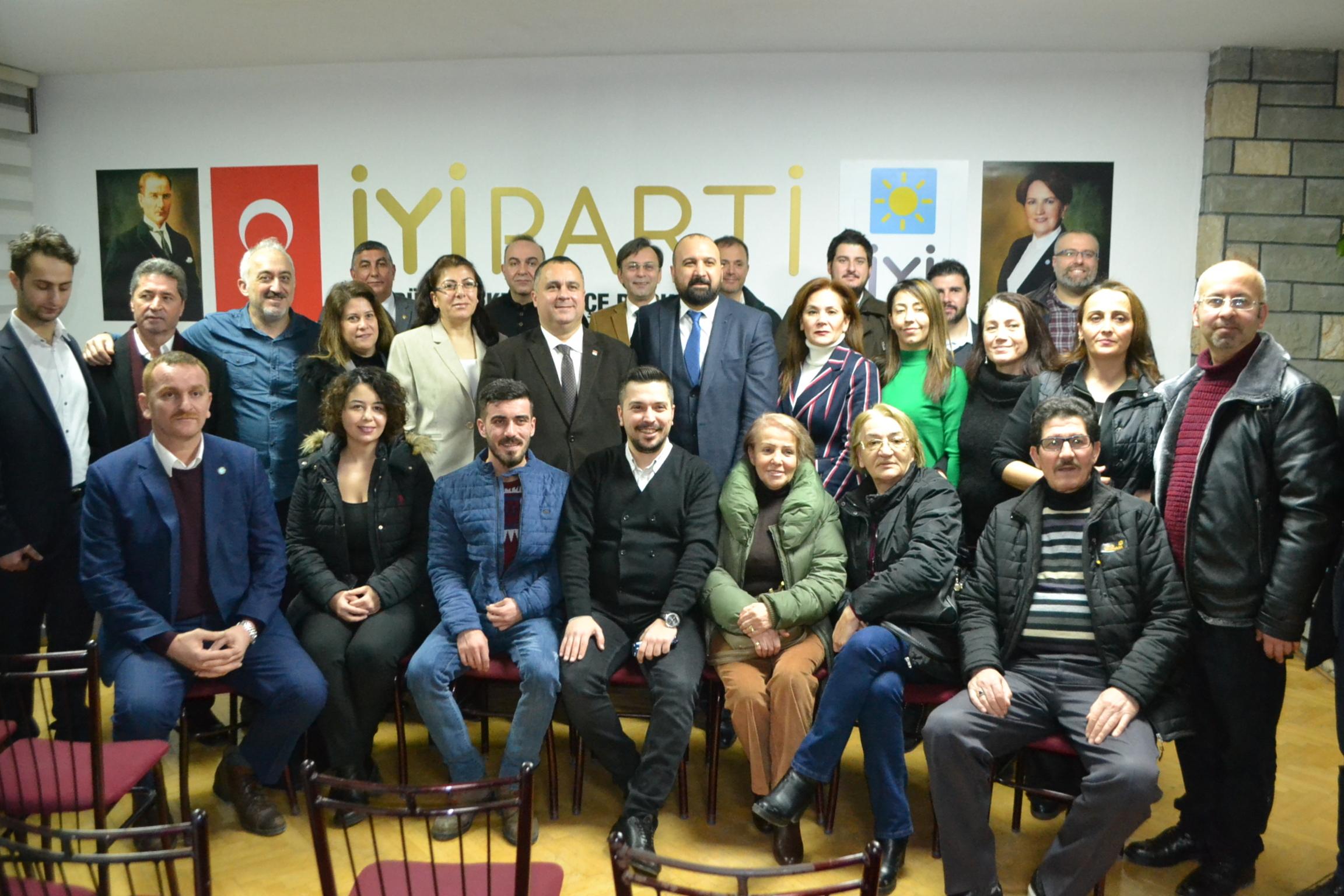 Büyükçekmece'de CHP-İYİ Parti zirvesi