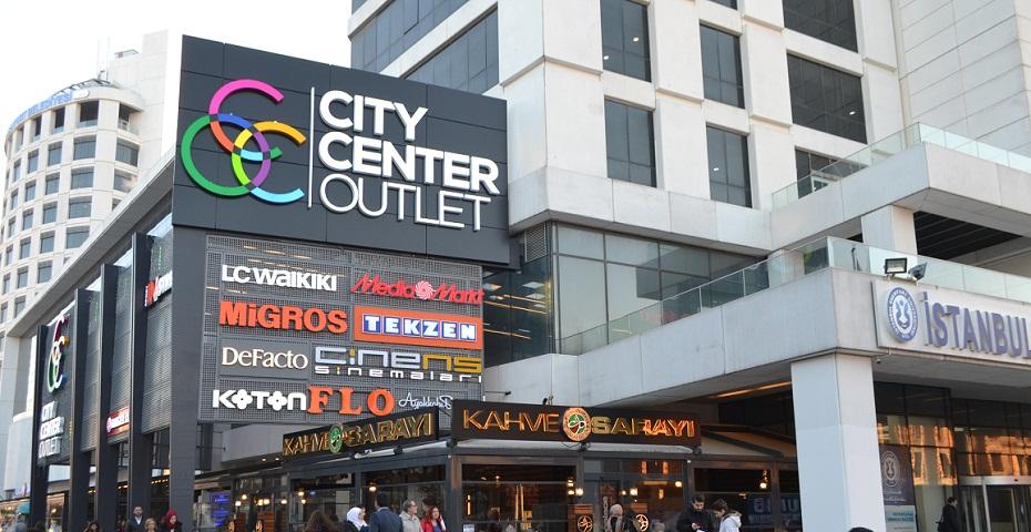 Esenyurt'un gözbebeği City Center Outlet AVM