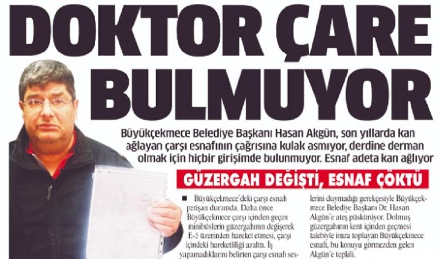 DOKTOR ÇARE BULMUYOR!