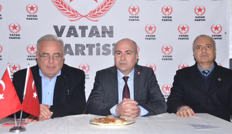 DEĞİRMENCİ'DEN VATAN PARTİSİNE ZİYARET
