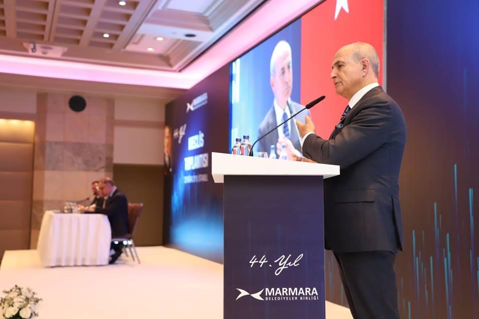 Akgün Marmara Belediyeler Birliği yönetimine seçildi