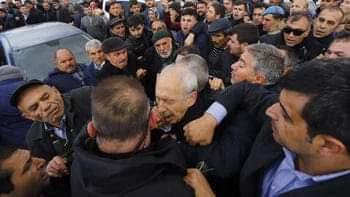 SON DAKİKA! Kılıçdaroğlu'na şehit cenazesinde saldırı