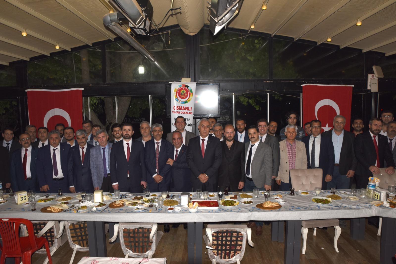 Gaziantep Osmanı Turan Ocakları kardeşlik yemeğine yoğun ilgi