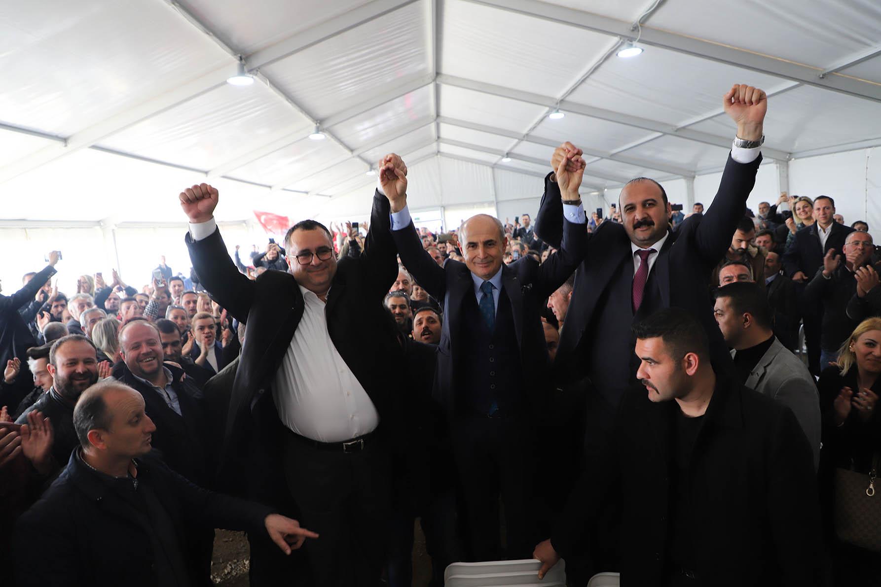 Başkan Akgün: Esas yürüyüş şimdi başladı