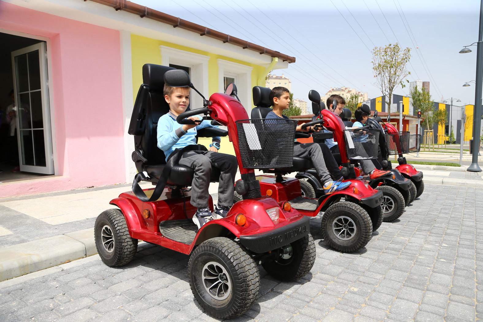 Trafik eğitim merkezi hizmete açıldı