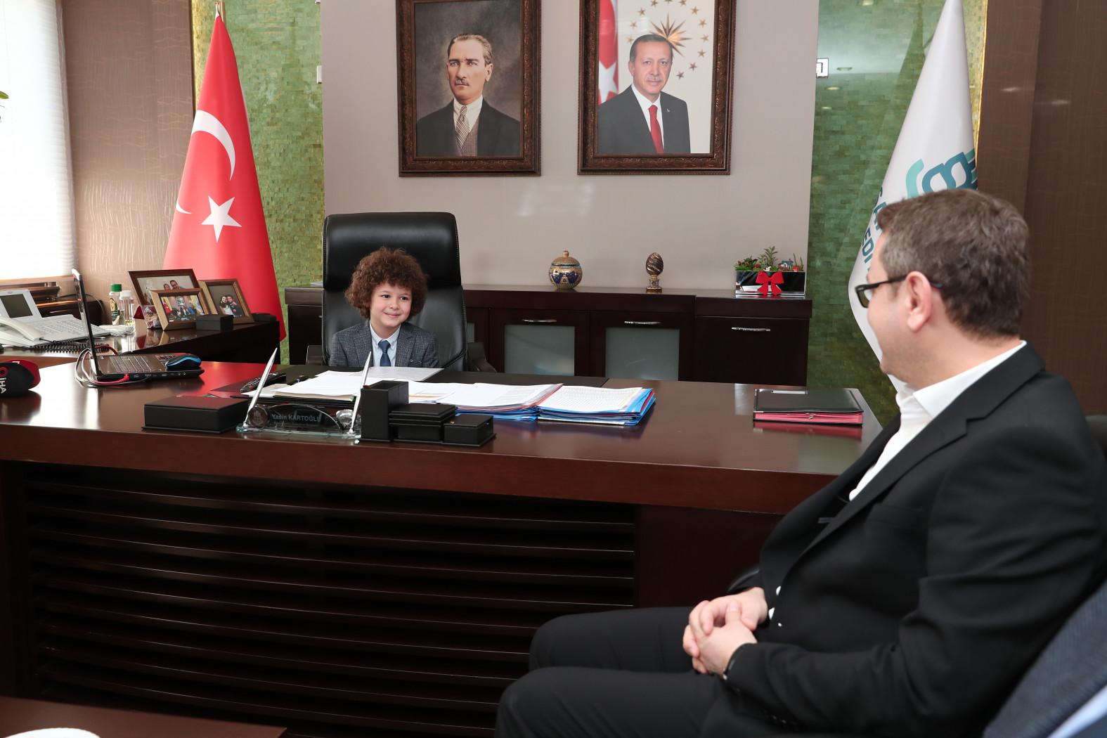 Başakşehir'de Çocuk Başkan'ın ilk talimatı: Yeşil Çevre