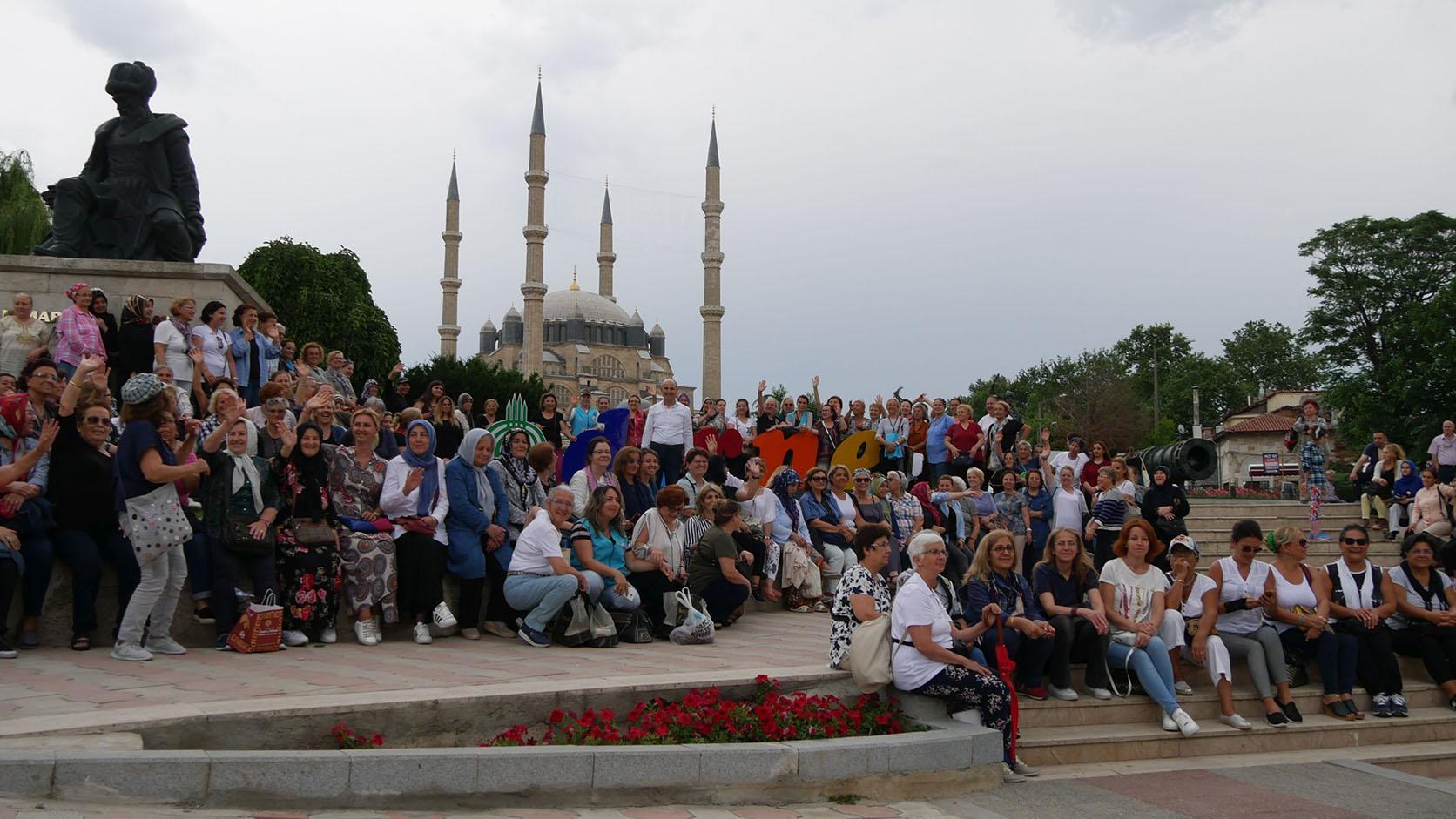 Büyükçekmeceli kadınlar 34'üncü kez Edirne'ye gidiyor