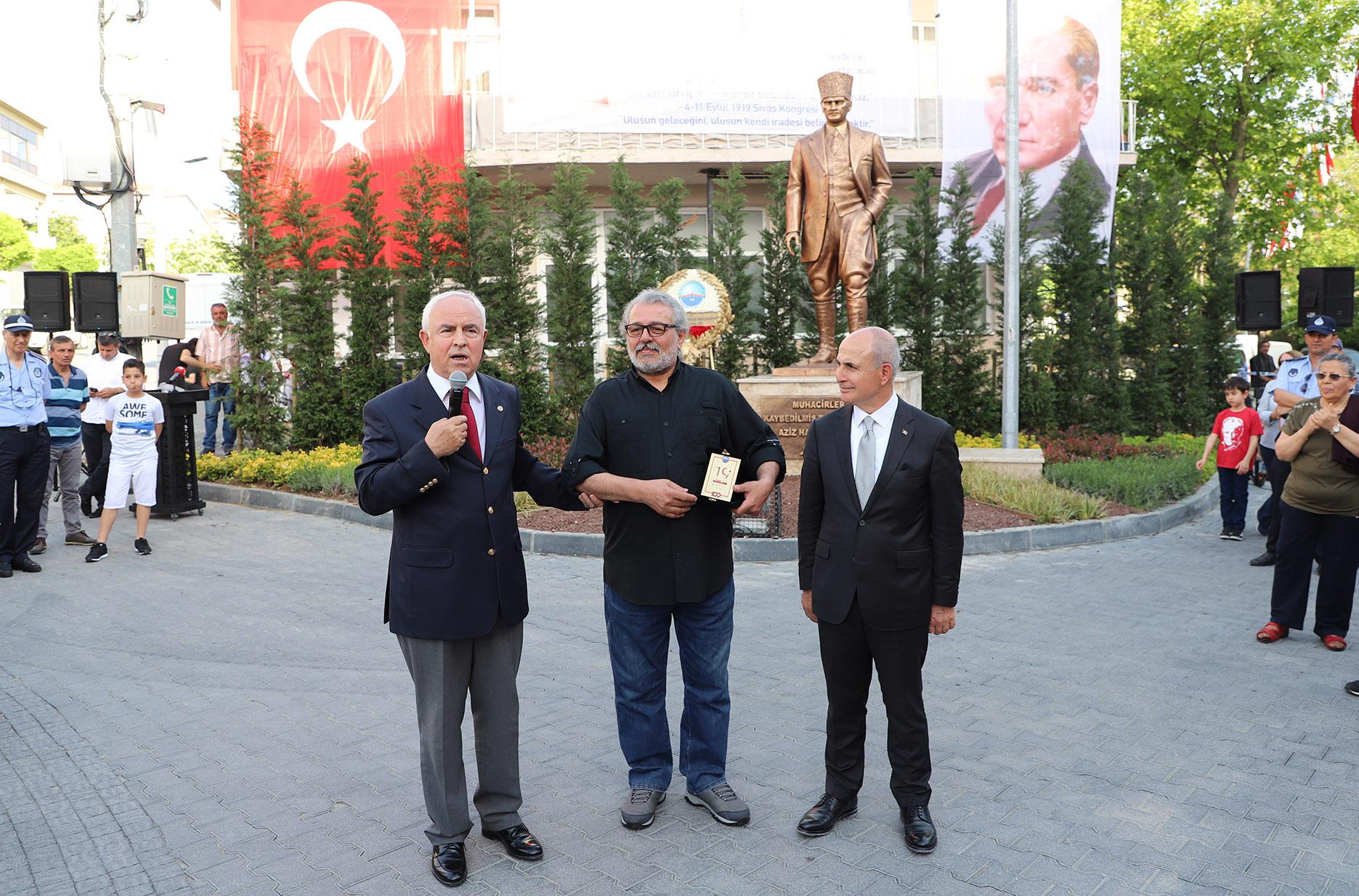 Milli Mücadele'nin 100'üncü yılı anısına muhteşem Atatürk Anıtı