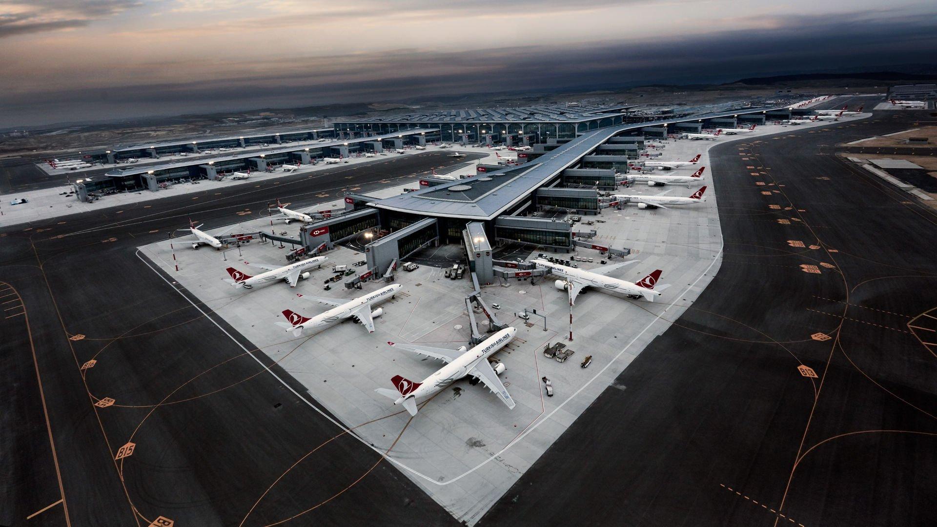 İstanbul Havalimanı'nı nisanda 4 milyondan fazla yolcu kullandı