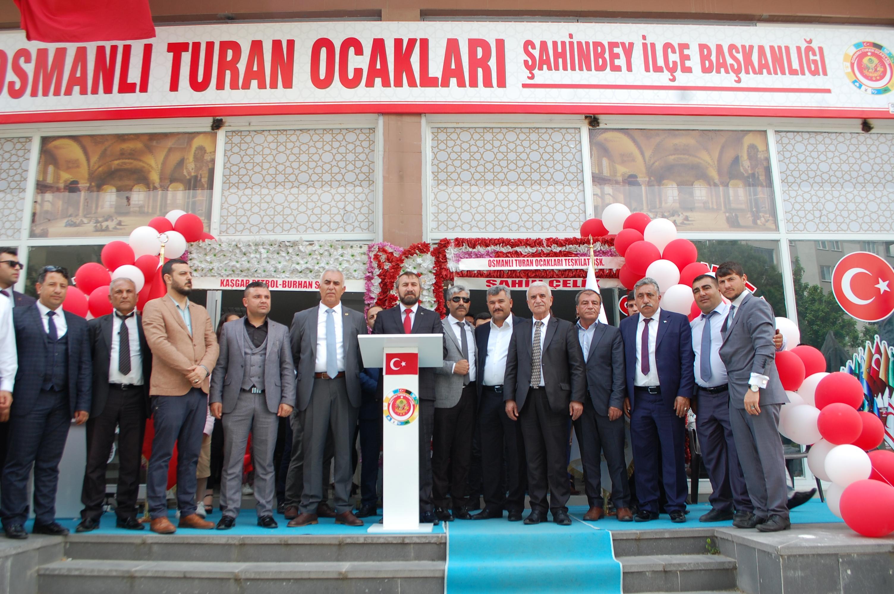 Şahinbey Osmanlı Turan Ocakları açıldı