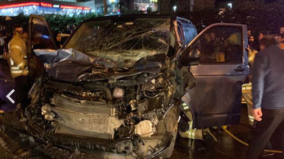 Maltepe'de 12 aracın karıştığı zincirleme kaza: 2 yaralı