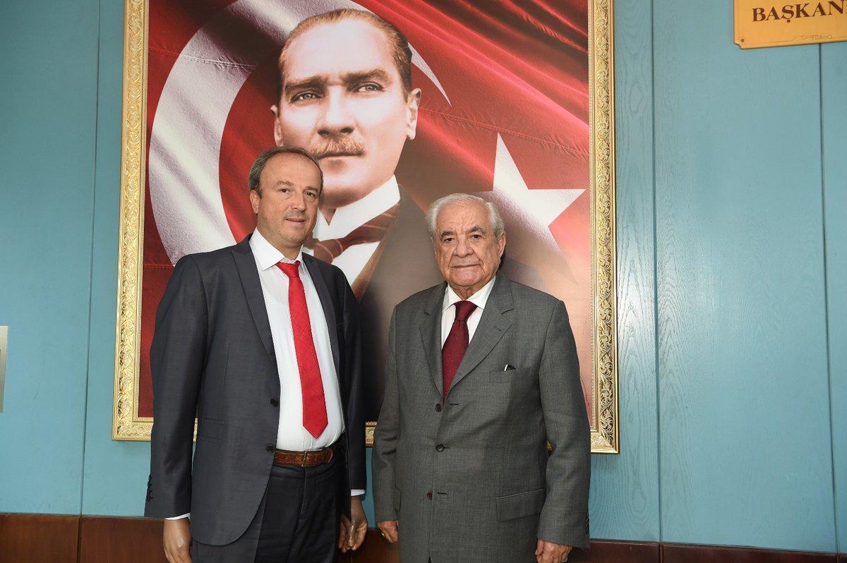 Eski İBB Başkanı Nurettin Sözer'den Hançerli'ye ziyaret
