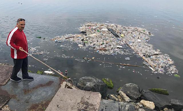 Küçükçekmece Gölü'nde tedirgin eden balık ölümleri
