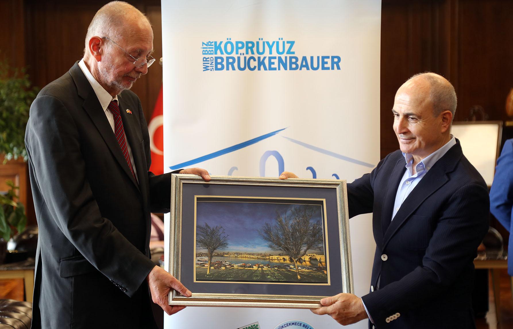 Büyükçekmece – Gelsenkirchen arasındaki dostluk köprüsü güçleniyor