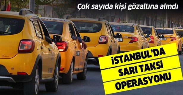 İstanbul'da turistleri dolandıran taksicilere operasyon