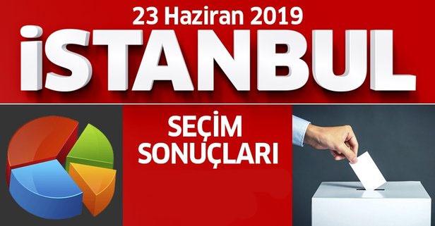 İşte 2019 İstanbul seçim sonuçları… (GÜNCEL)