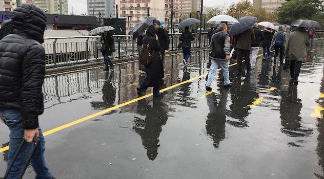 Marmara'ya kuvvetli yağış uyarısı