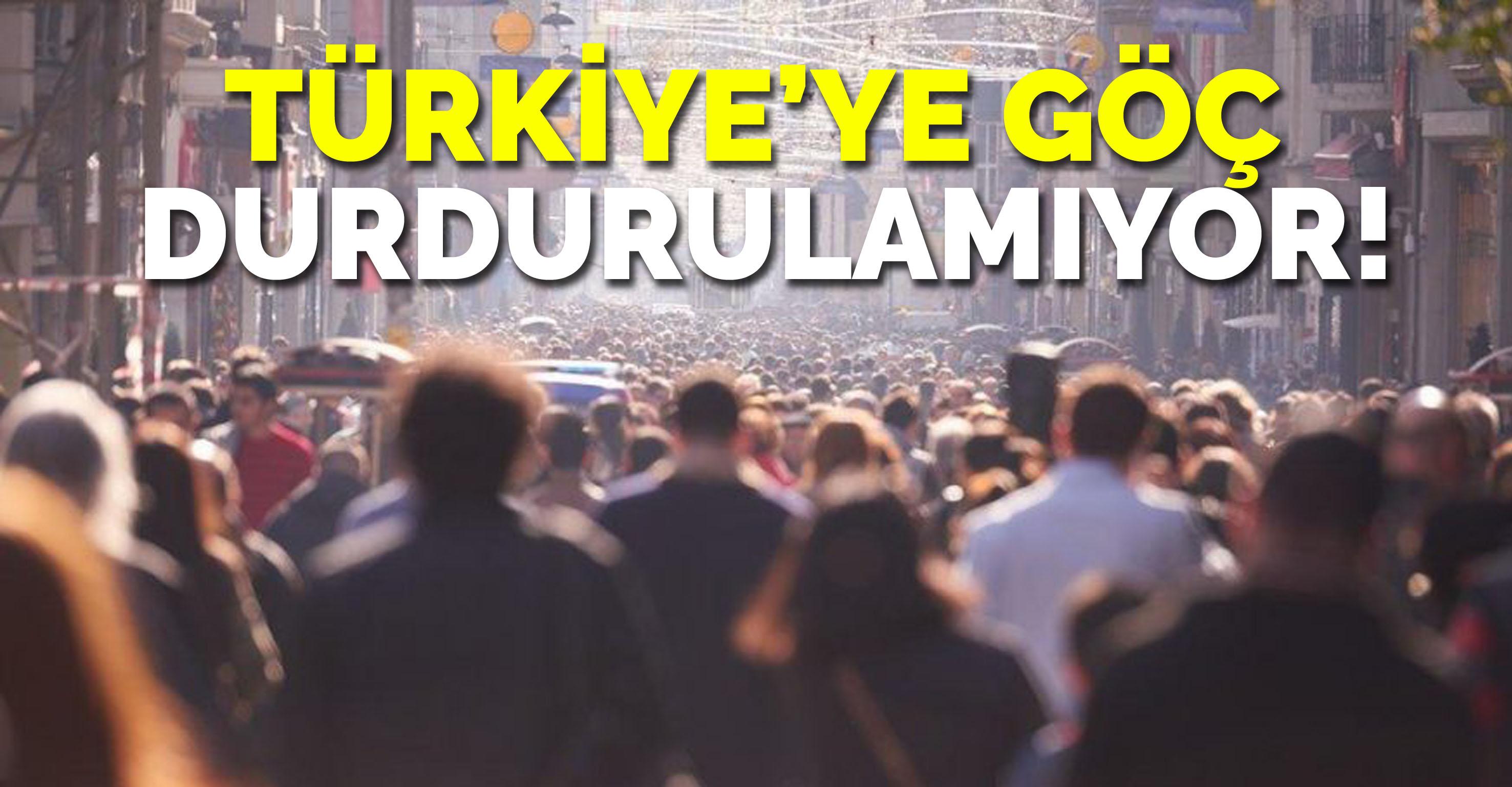 Türkiye'ye 2018'de 577 bin kişi göç etti