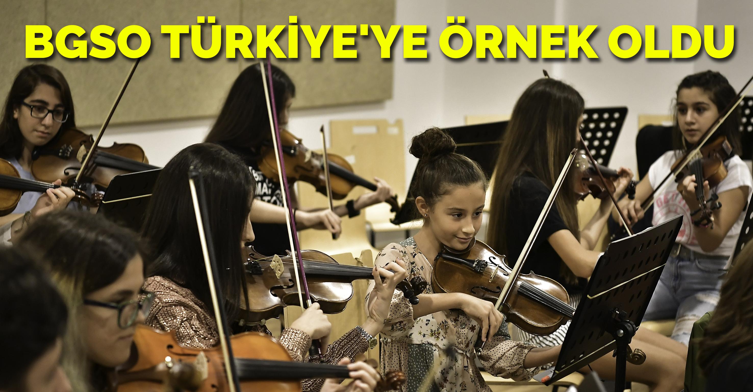 BGSO Türkiye'ye örnek oldu