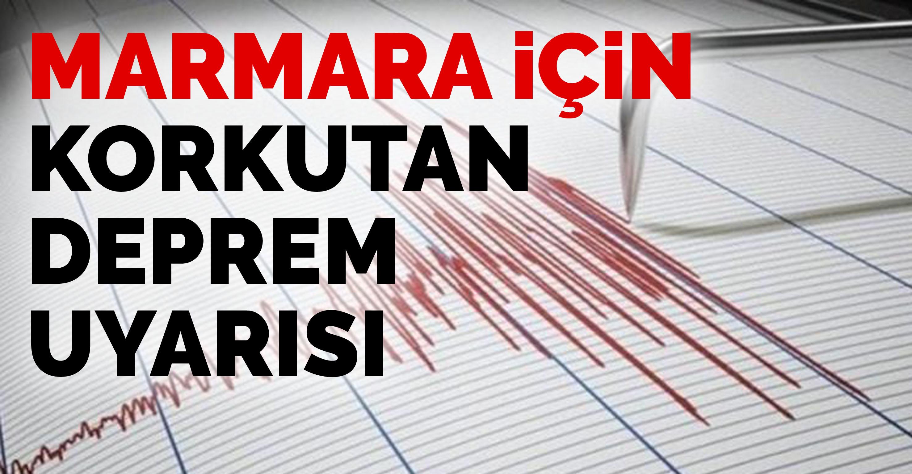 Uzmanlardan korkutan deprem uyarısı