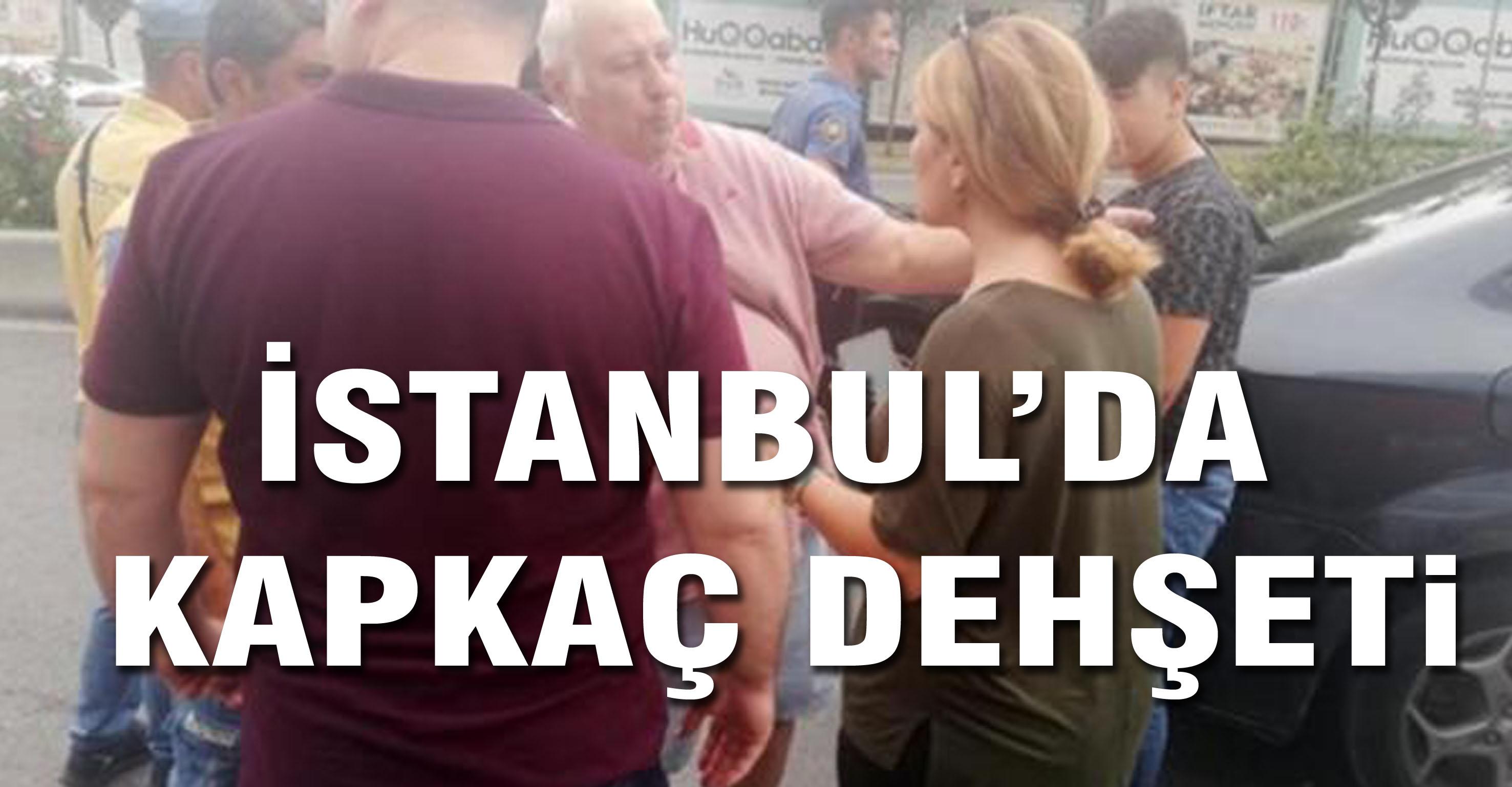 İstanbul'da kapkaç dehşeti!
