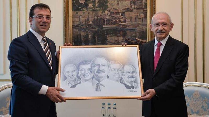 Kılıçdaroğlu, İBB Başkanı İmamoğlu'nu ziyaret etti