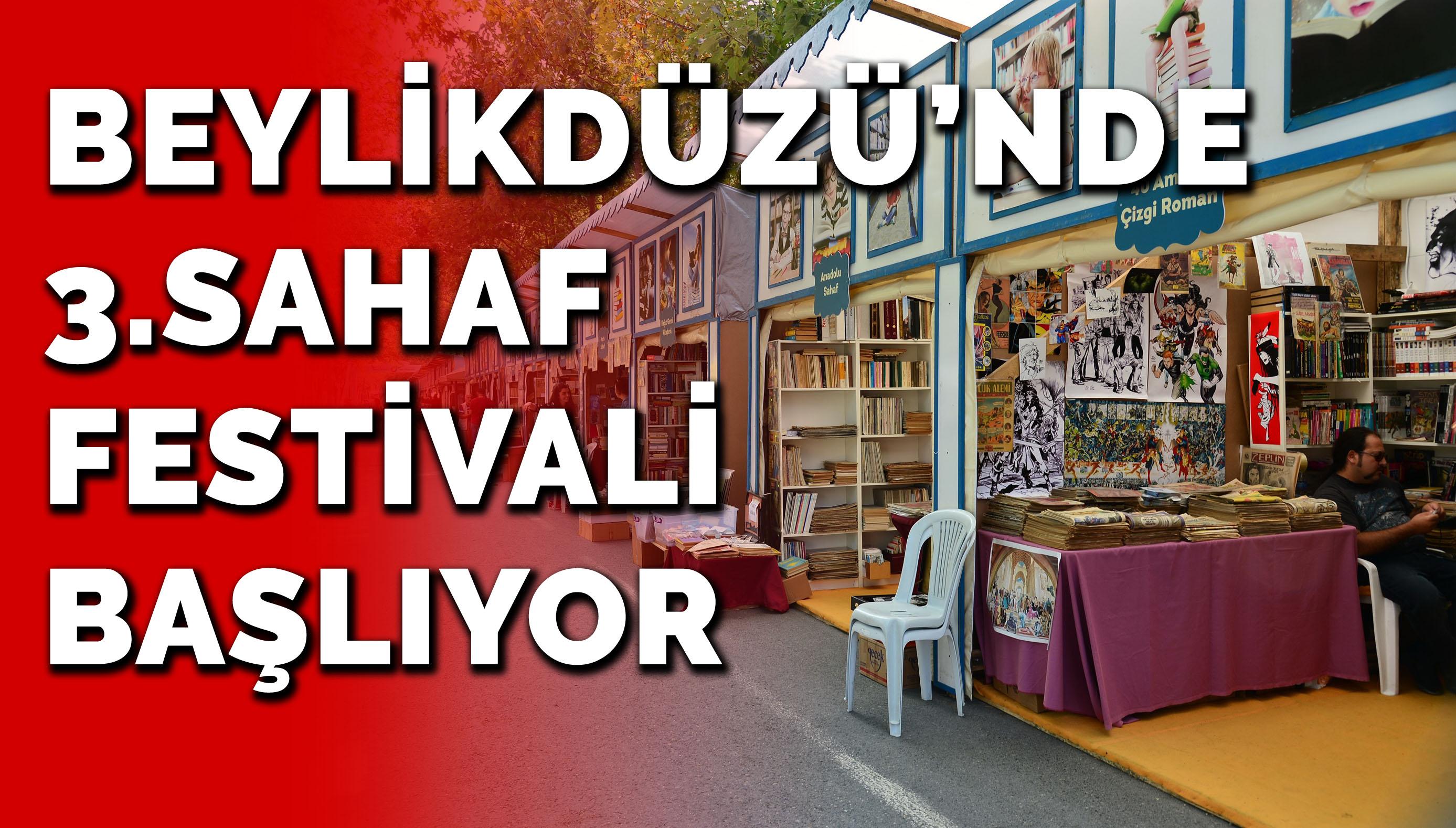BEYLİKDÜZÜ'NDE 3.SAHAF FESTİVALİ BAŞLIYOR