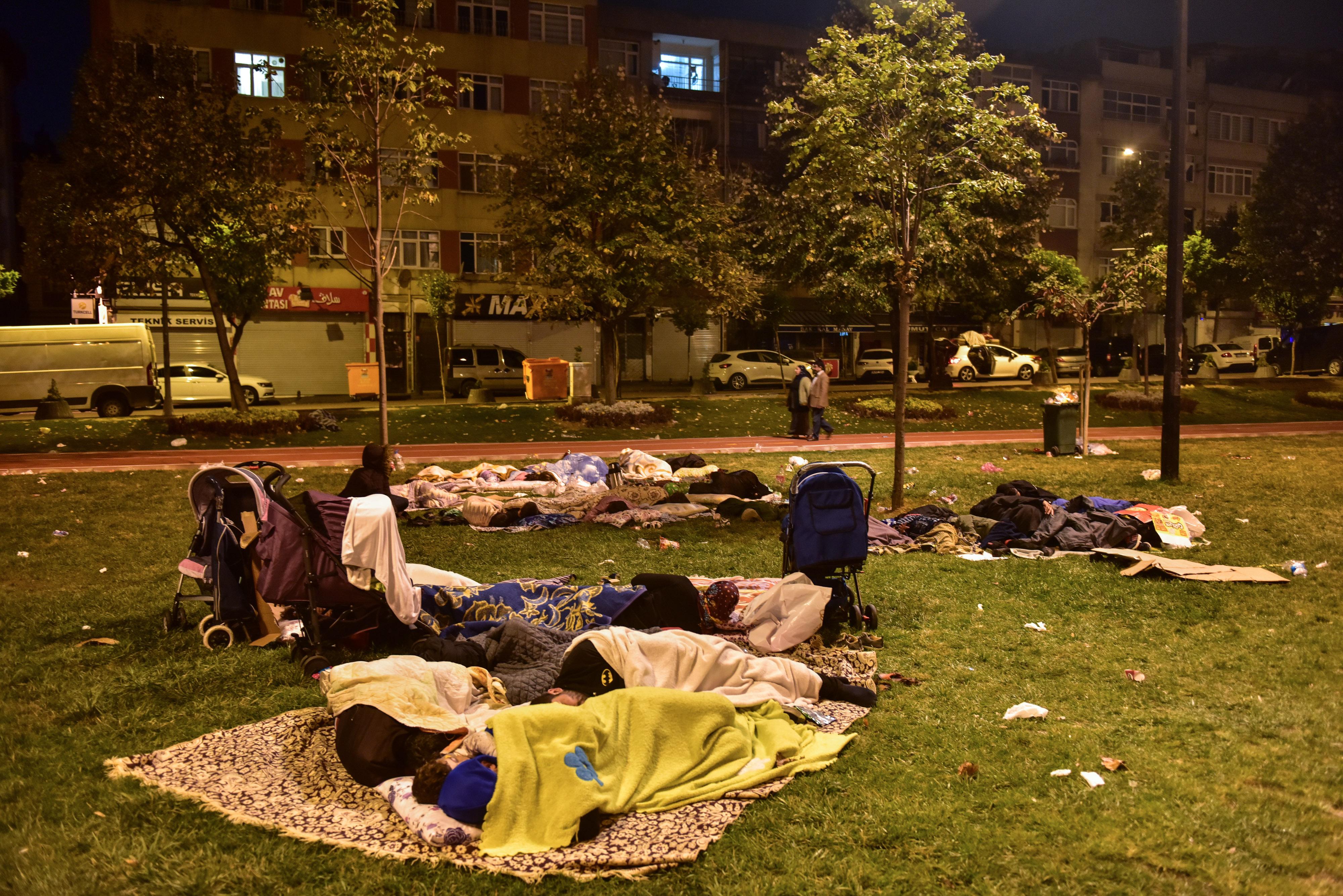 5.8'lik depremin ardından İstanbul