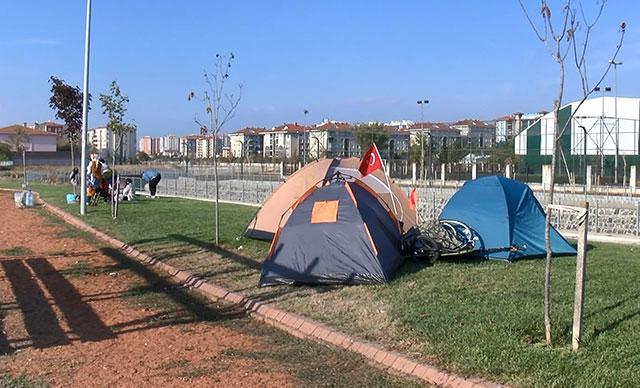 Silivri'de son durum: Çadırlar kuruldu