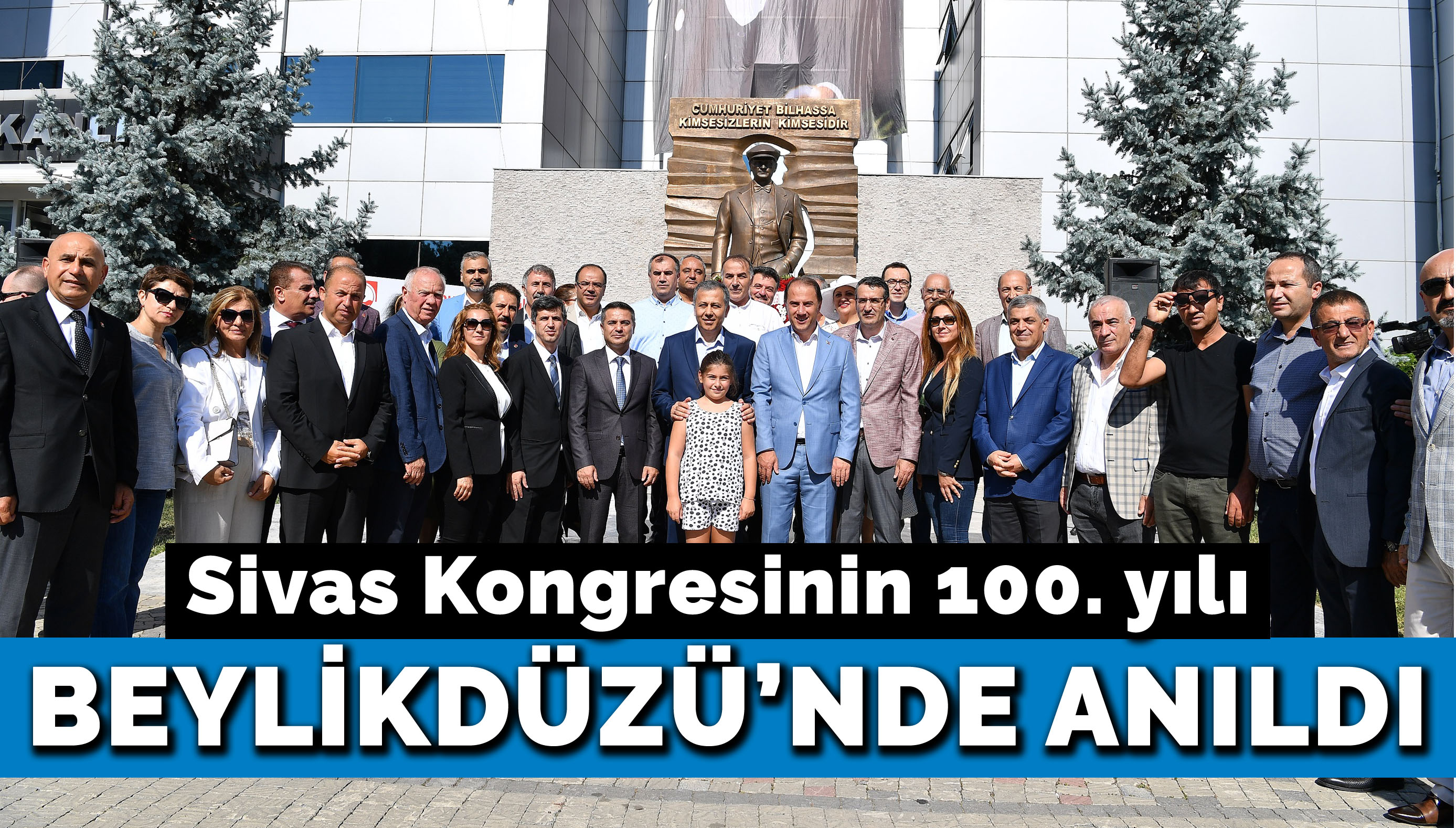 Sivas Kongresinin 100. yılı Beylikdüzü'nde anıldı