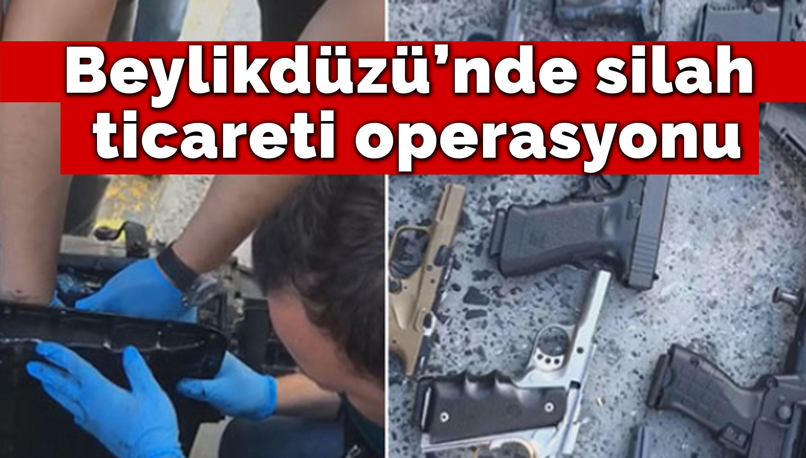 Ambarlı Limanı'ndaki silah ticareti operasyonu kamerada