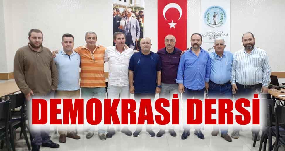 DEMOKRASİ DERSİ