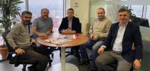 İGD Başkanı Mert'ten Karasansar'a 'Hayırlı olsun' ziyareti