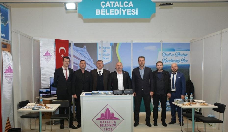 Başkan Mesut Üner Çatalca İçin Yeni Projelerini Ankara'da Açıkladı
