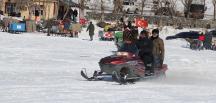 Başkan Bozkurt kayak keyfinde, Saadetdereliler isyanda!