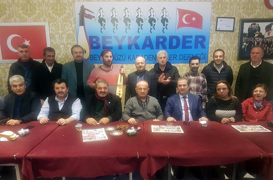 BEYKARDER, VATAN PARTİLİLERİ AĞIRLADI