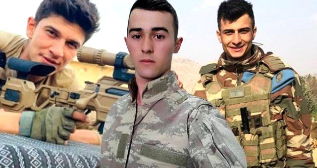İdlib'de şehit olan 33 askerimizden 6'sının kimliği belli oldu