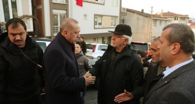 Cumhurbaşkanı Erdoğan'dan İdlib Şehidinin Evine Ziyaret