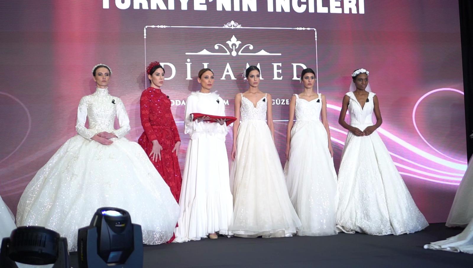 Dilamed Moda evi'nden Türkiye'nin İncileri Ödül Töreni'nde muhteşem defile!