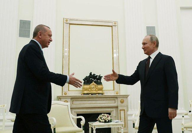 Dünyanın gözü bu zirvede! Erdoğan- Putin görüşmesi başladı
