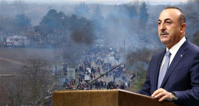 Göçmen krizi büyüyor! Çavuşoğlu, Sosyal Medyada Alman Mevkidaşıyla Restleşti!