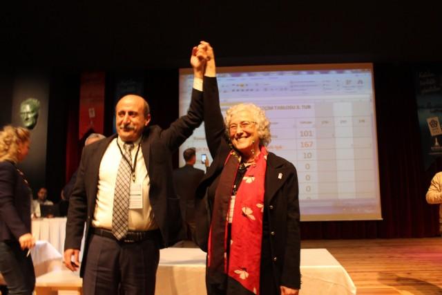 İzmir Kent Konseyi'nin Yeni Başkanı Nazik Işık oldu!