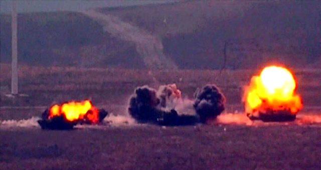 Türkiye'nin Esed'e tanıdığı sürenin dolmasının ardından çok sayıda rejim hedefi ateş altına alındı