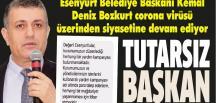 TUTARSIZ BAŞKAN!