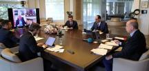 Cumhurbaşkanlığı Kabinesi video konferansla toplandı: 1-2-3 Mayıs için sokağa çıkma yasağı masada
