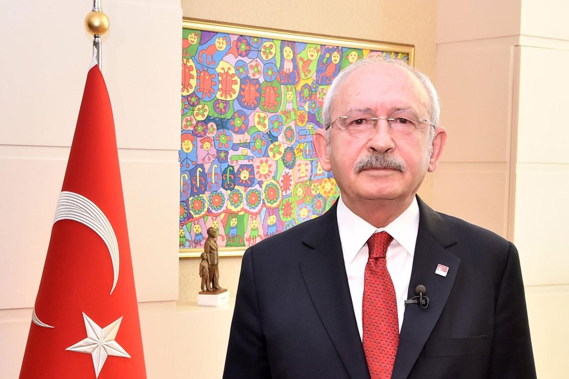 CHP Lideri Kılıçdaroğlu'ndan 23 Nisan mesajı