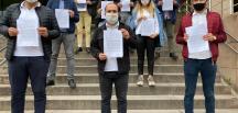 CHP İzmir İl Gençlik Kolları Ak Parti Gençlik Kolları Üyesi Mehmet Emin Göç Hakkında Suç Duyurusunda Bulundu
