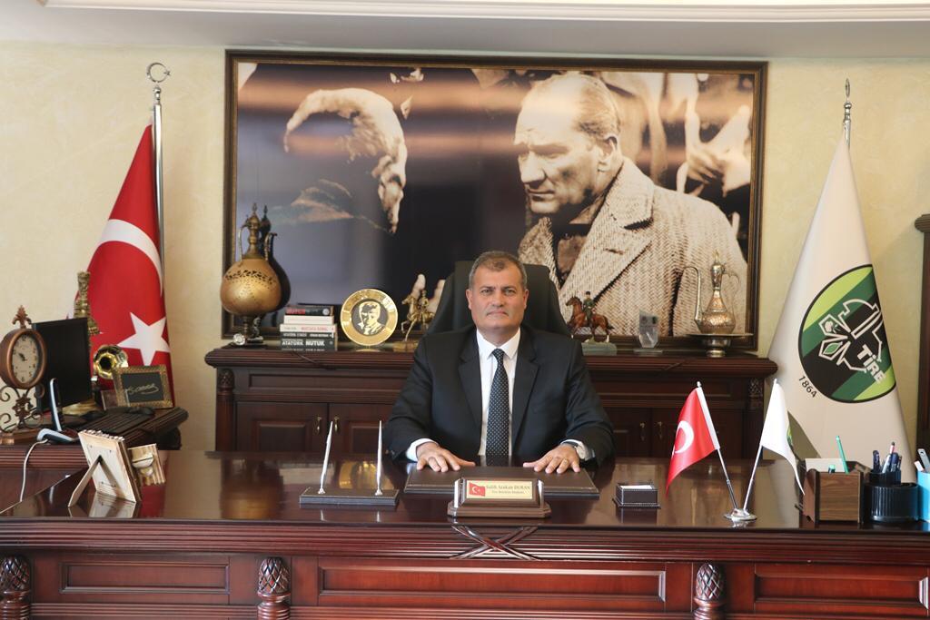 Tire Belediye Başkanı Salih Atakan Duran'dan Açıklama